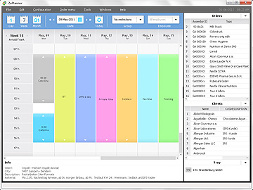 ZePlanner new version screenshot Jan2014