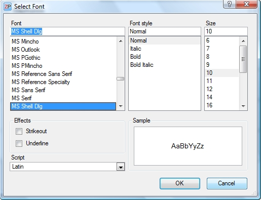 user_manual_select_font